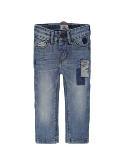 Jeans Finley Low met patches