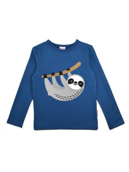 Longsleeve Blue Sloth