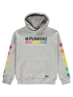 Hoodie Parkin Light Grey Melange Polaroid