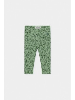 Legging All Over Leopard Green Baby Bobo Choses