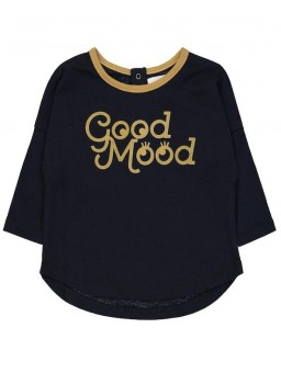 Longsleeve Navy Good Mood Lovers